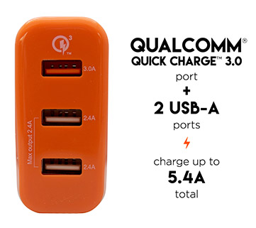 qualcomm quick wall charger