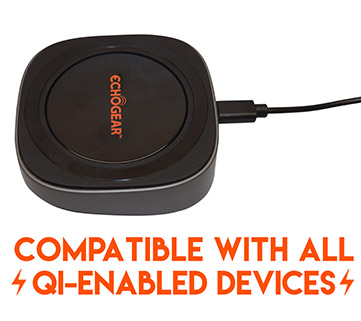 Works with all Qi enabled wireless charging smart phones