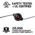 This USB cable is Safety tested & UL certified