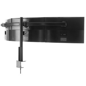 Triple monitor mount