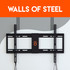 Make a steel-stud TV install easy