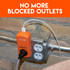 No more blocked outlets