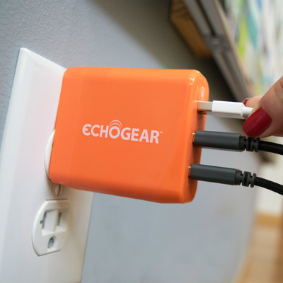 Wall quick charger for iPhone or Samsung Galaxy