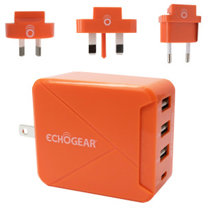 Travel charger that works anywhere in the world