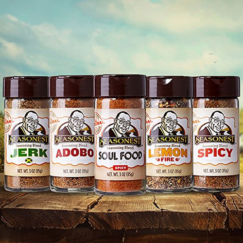 Seasonest Keep It Hot 5 Pack Spice Blends