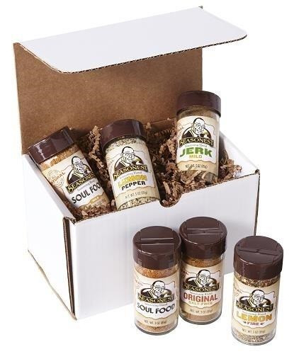 Seasonest 6 Pack Spice Blend Set