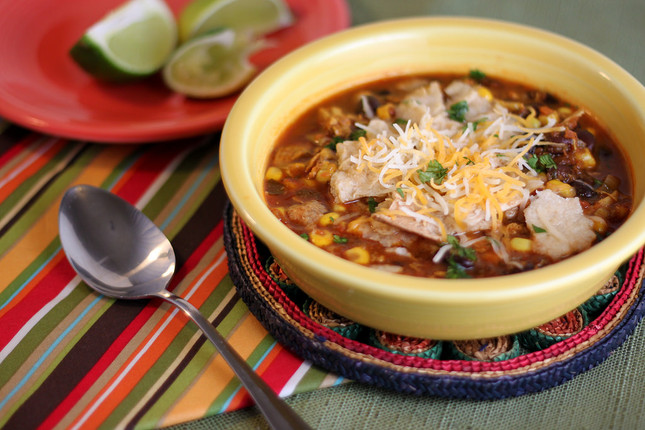 Chicken Tortilla Soup made with Seasonest Adobo Spice Blend