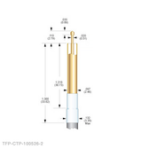 TX-CTP-100526-2 Coaxial Test Probe