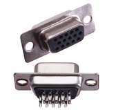 D-SUB HD15 Female Solder Cup Connector