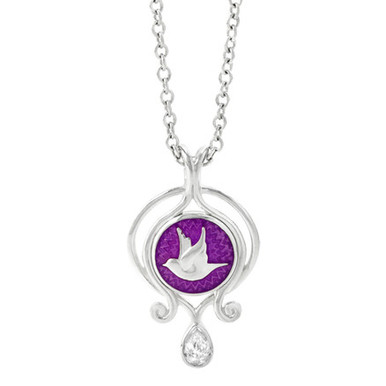 Lady slipper pendant a passion for living lady slipper pendant aloadofball Image collections