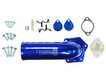 Sinister Diesel EGR Delete Kit for Ford Super Duty 2008-2010 6.4L w/ High Flow Intake Elbow