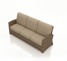 Forever Patio Cypress Wicker 3-Seater Sofa by NorthCape International