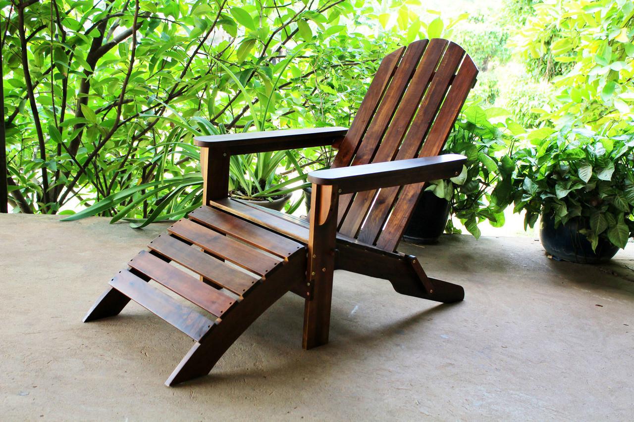 International Caravan Highland Adirondack Chair With