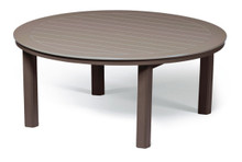 """Telescope Casual 54"""" Round Chat Height MGP Table With Hole"""
