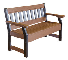 Wildridge Heritage Poly-Lumber Garden Bench