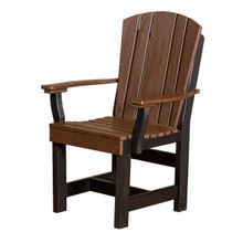 Wildridge Heritage Poly-Lumber Dining Chair With Arms