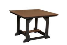 "Wildridge Heritage Poly-Lumber 44"" Square Dining Table"