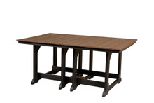 "Wildridge Heritage Poly-Lumber 72"" Rectangular Dining Table"