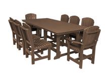 """Wildridge Heritage Poly-Lumber 9 Piece 94"""" Rectangular  Dining Set"""