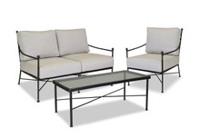 Provence Loveseat, Club Chair And Coffee Table