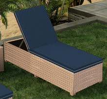Forever Patio Hampton Wicker Adjustable Chaise Lounge by NorthCape International