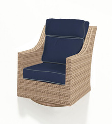 Forever Patio Hampton Wicker HIgh Back Swivel Rocker by NorthCape International