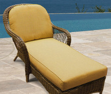 NorthCape International Wicker Deep Seating Chaise Lounge Replacement Cushions