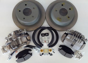 Rear Disc Brake Caliper and Rotor Kit
