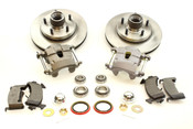 """Complete S-10 Front Disc Brake Kit 10.5"""" Rotors for Stock or Drop Spindles"""