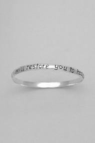 Bangle - I Will Restore