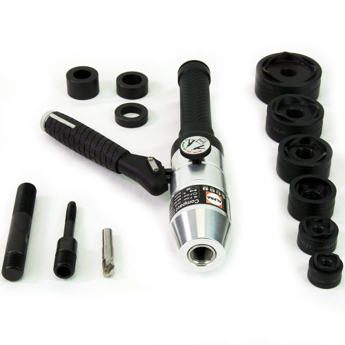 """ALFRA 02001A Compact Hydraulic Punch Kit w/MonoCut 1/2"""" - 2"""" Conduit punch/die sets"""