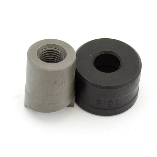 ALFRA 01519 TwinCut Round Punch 18.6 mm DIA