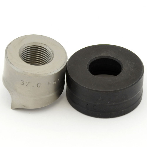 """ALFRA 01540 TwinCut Round Punch and Die Set 1-7/16"""" DIA"""