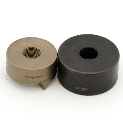 """ALFRA 01552 TwinCut Round Punch and Die Set 2-1/8"""" DIA"""