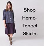 tencel-hemp-womens-skirts