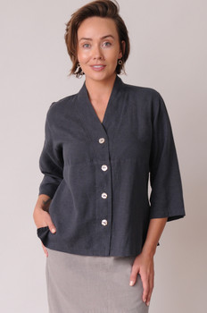 Graphite hemp & Tencel Top