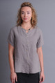 Grey Fog Tencel Top