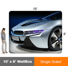 10x8' Wallbox Display - Single Sided