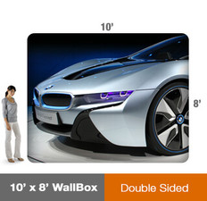 10x8' Wallbox Display - Double Sided