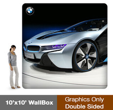 WallBox 10x10' - Double Sided - Graphics Only
