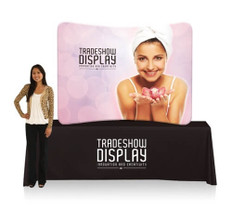 6ft Table Top EZ Tube Fabric Display