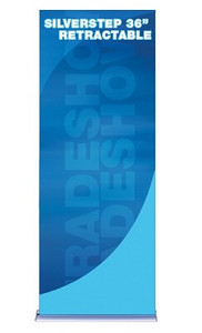SilverStep 36 Retractable Banner Stand