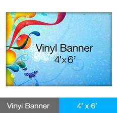 Vinyl Banner 4' x 6'