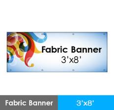 Fabric Banner 3'x8'