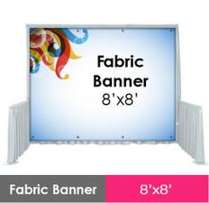 Fabric Banner 8'x8'