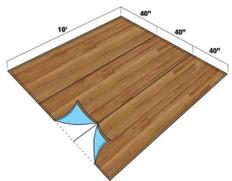 FlexFloor To Go Rollable Flooring