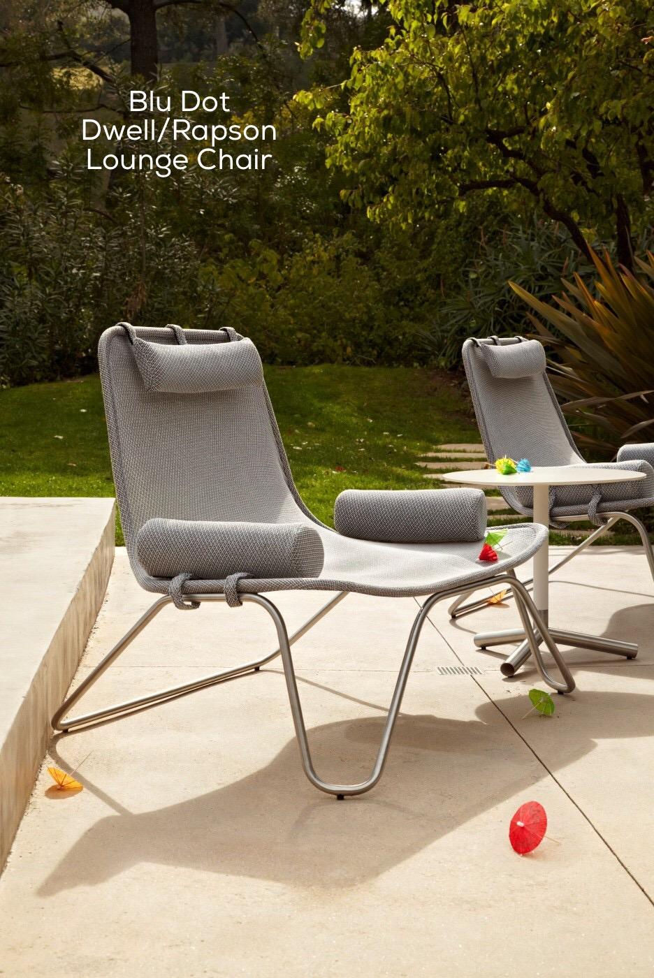 Blu Dot Dwell/Rapson Lounge Chair