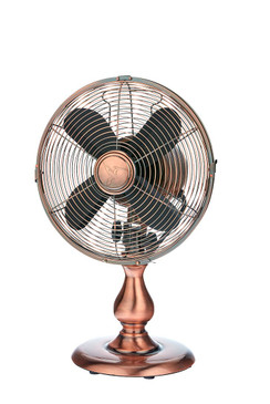 Table Fan - Copper