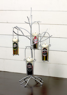 Display Tree Silver