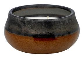 Stoneware Collection - Black & Tan 4-wick
